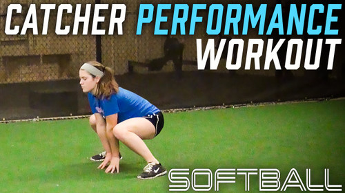 Softball Strong  - Catcher Strength Performance workout for explosiveness
