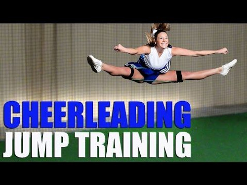 Cheerleading Jumps Using Myosource Cheer Kinetic Bands