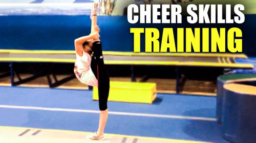 Cheerleading Flexibility and Jump Height | Cheer Exercises Using Cheer Kinetic Bands®