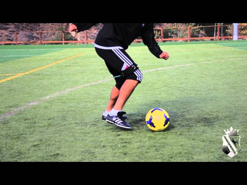 ​Soccer Training  - dribbling and shooting using Myosource Kinetic Bands / Resistance Bands