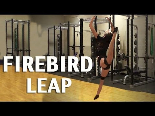 Improve Your Firebird Leap for Dance – Use Myosource Kinetic Bands  / Resistance Bands