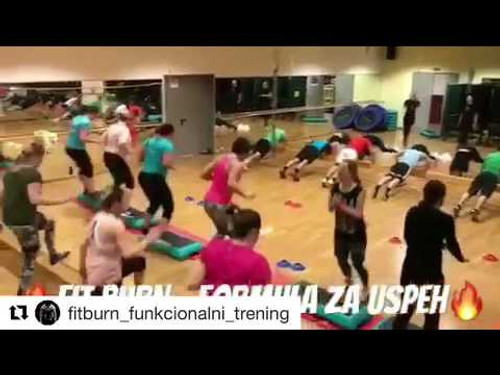 Fitburn Functional Fitness Workout with Myosource Kinetic Bands Europe - Fitness at Its Best