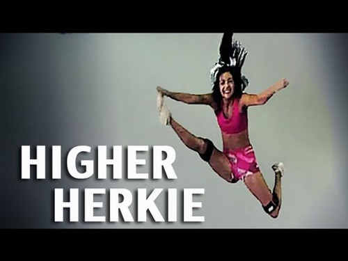 Cheerleading Herkie - Increase Your Jump Height with Myosource Kinetic Bands