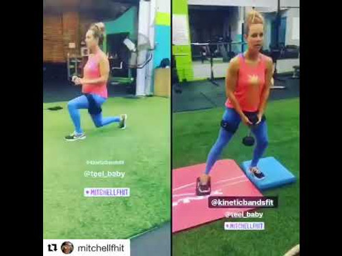 HIIT Glute Fitness Workout with Resistance Bands – Kinetic Bands®
