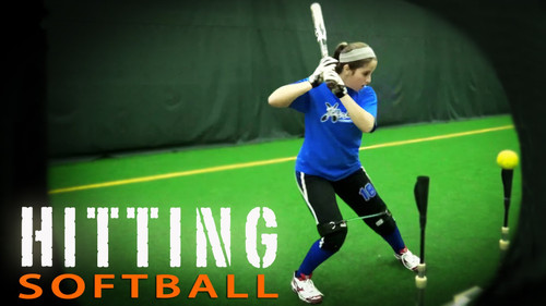 Hip Strength and Knee Drive for Fast pitch Softball Hitting with Kinetic Bands