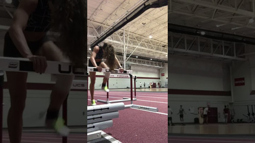 Increase Explosive Power for Track - Plyometric Hurdle Drill with Kinetic Bands®