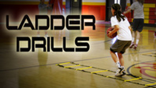 Athlete Ladder Drills - Great Speed & Agility Training, Sprint Training, and conditioning - SPEED LADDER SALE