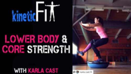 Abs Fitness Workout and Lower Body Fitness Workouts using Myosource Kinetic Bands -   Karla Cast Fit