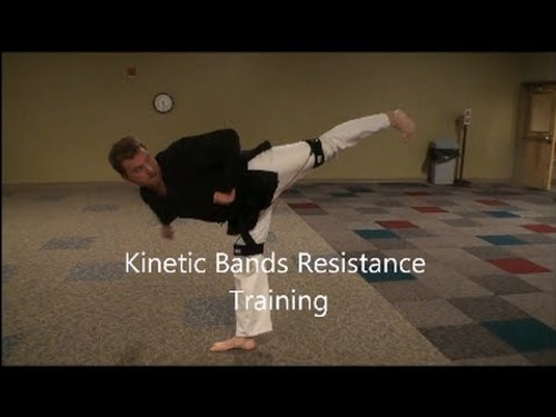 ​Great Martial Arts Fitness Workout for Strength with Myosource Kinetic Bands / Resistance Bands