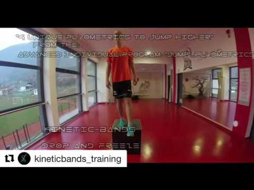 Plyometric Exercises to Increase Vertical Jump - using Myosource Kinetic Bands - Basketball