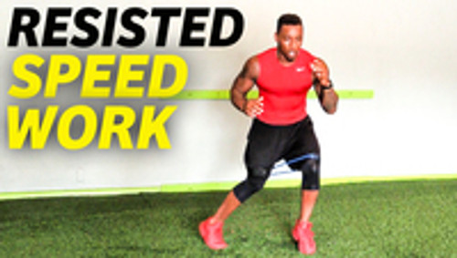 Speed & Agility Drills with resistance bands  - Rapid Response Time