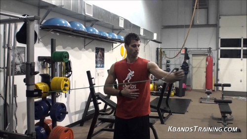 ​Rotator Cuff Exercises and Shoulder Exercises - Myosource Kinetic Bands Upper Body Fitness Workout Bands