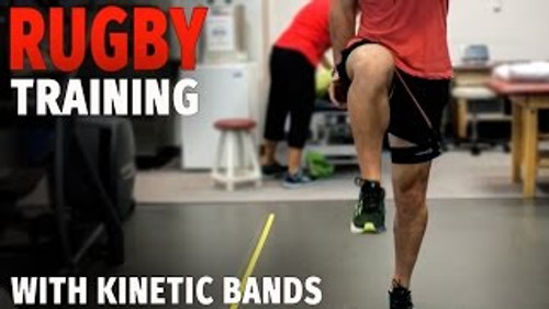 Speed & Agility Training for Rugby and all other Sports Utilizing Leg Resistance Bands / Myosource Kinetic Bands