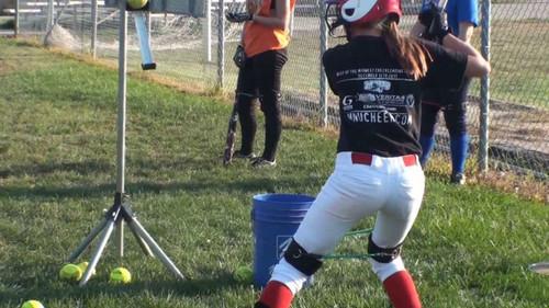Softball Hitting | Build Hip Strength with Myosource Kinetic Bands