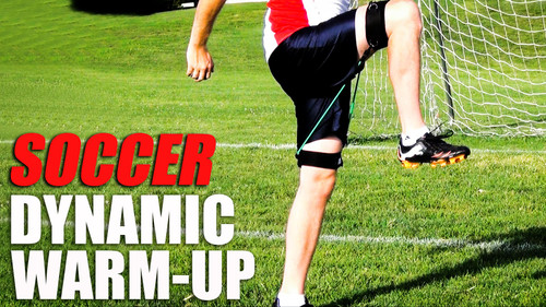 Soccer Warm Up Exercises and Drills | Resistance Training For Soccer