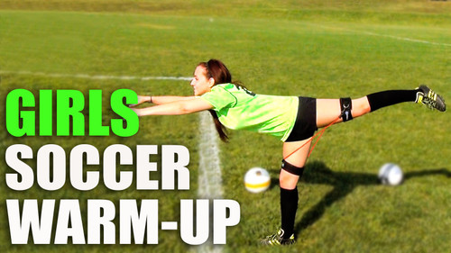 Soccer Dynamic Warm Up | Women's Soccer | Girls Soccer with Kinetic Bands