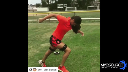 Softball Acceleration Speed Training with Myosource Acceleration Speed Cord
