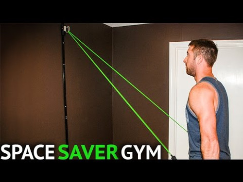 SPACE SAVER GYM - Great tool for a great full body fitness workout