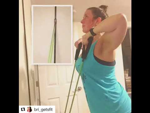 Space saver gym home fitness workout with kineticrt upper body