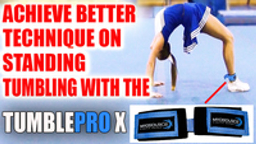 ​Cheerleading Tumbling Training Tool To Keep Legs Together | TumblePro X