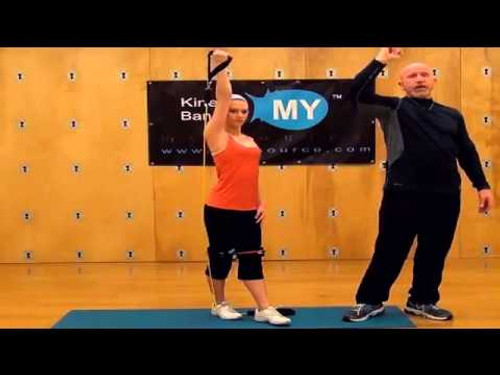 Cheerleading Training For The Upper Body - Myosource Kinetic Bands  / Resistance Bands