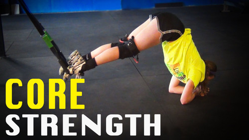 Volleyball Core Strength | Body Weight Suspension Training
