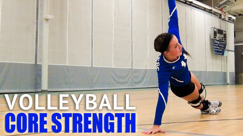 Build Core Strength for Volleyball - Use Myosource Kinetic Bands