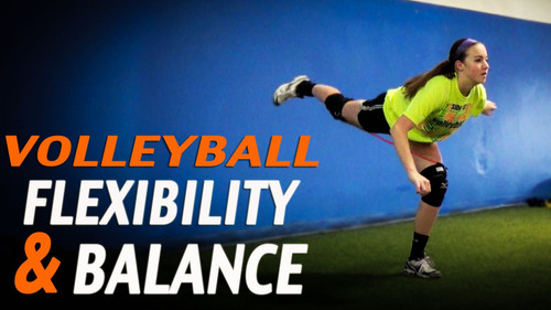 Volleyball Balance, Flexibility and Range of Motion Exercises with Kinetic Bands