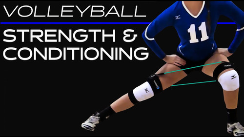 Volleyball Strength and Conditioning with Myosource Ultimate Kinetic Bands - Feel the Tension