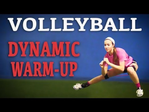 Volleyball Dynamic Warm Up | Warm Up for Volleyball with Kinetic Bands