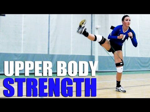 ​Volleyball Upper Body Strength Training / Lower Body Strength Training / Core Strength Training