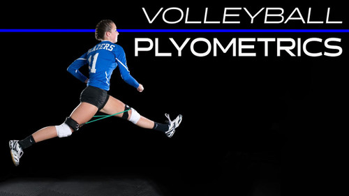 Volleyball Drills - Vertical Jump Training using Myosource Kinetic Bands / Resistance Bands