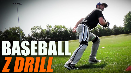 Baseball Drills Outfield Footwork Speed | Increase Speed for Outfielders with Kinetic Bands