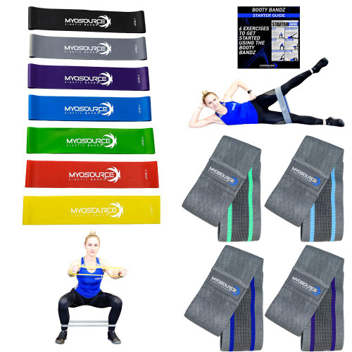 Glute Bands for Women Bundle (Set of 11)