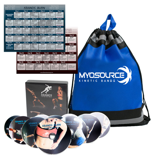 Kinetic Bands (Optional), 10 DVD Workout, Drawstring Sportpack, Downloadable Workout Calendar, Downloadable Nutrition and Workout Guide