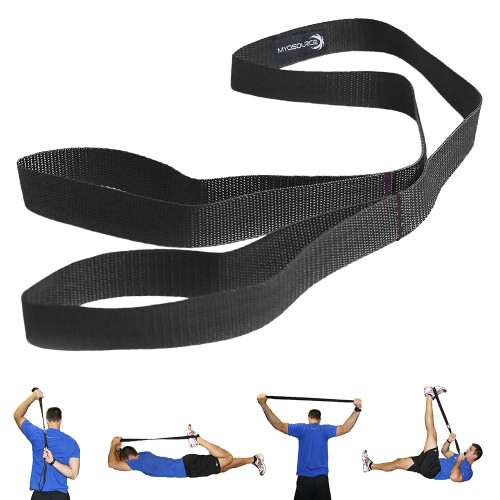 The Athletic Stretching Strap is a great way for any athlete to stretch out before practice or competition. Not only is it easy to transport, but it's free when you purchase a set of Kinetic Bands on our website.