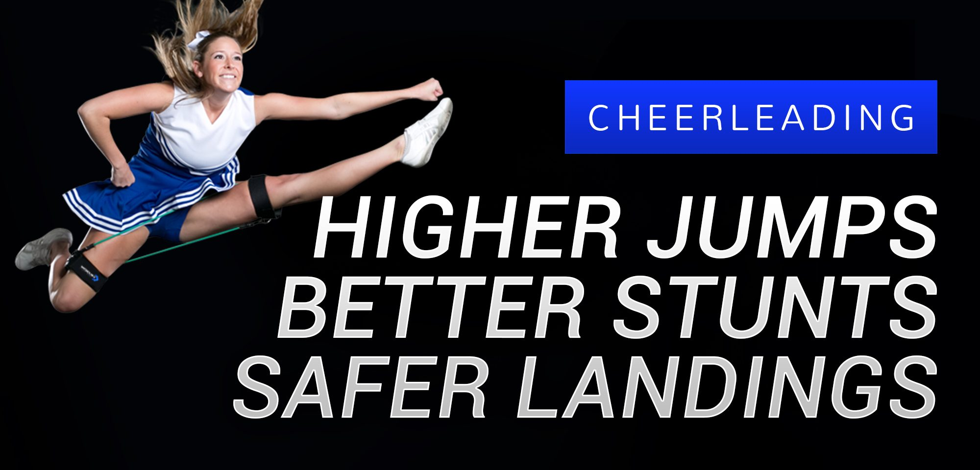 Higher Jumps, Better Stunts, Safer Landings with Cheer Kinetic Bands