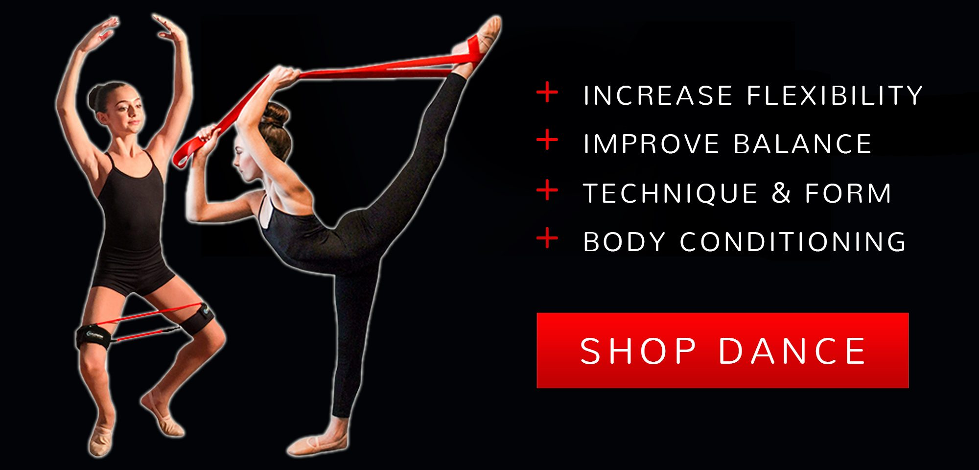 Increase flexibility, improve balance, technique and form, body conditioning for Dancers - Shop Dance