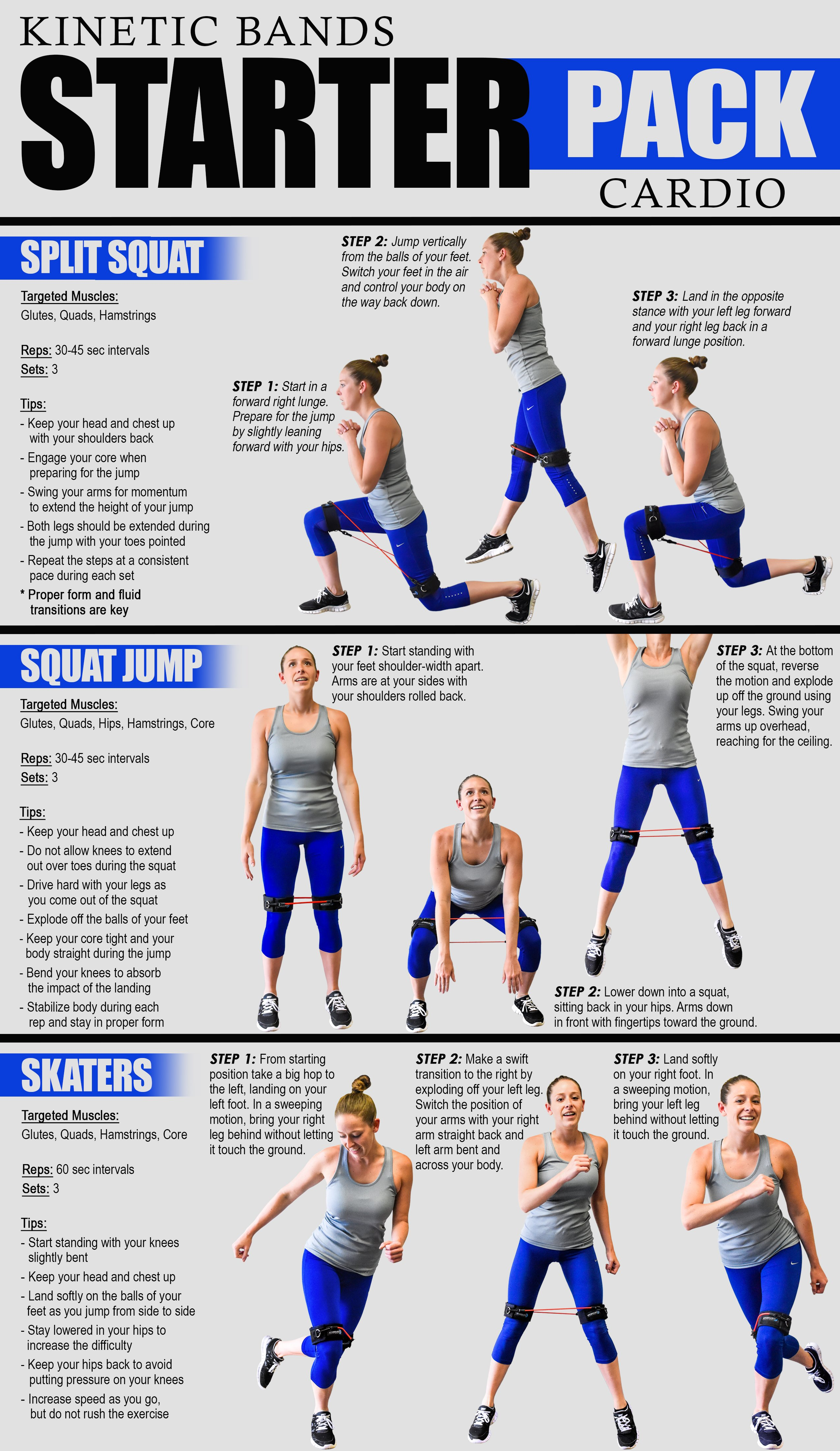 Kinetic Bands Cardio Workout Guide