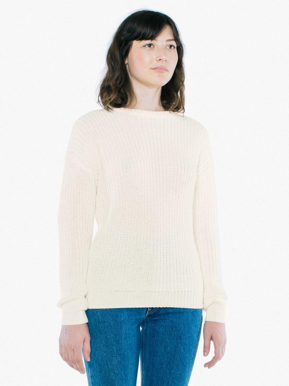 Unisex Ivory Sweatshirts Crewneck