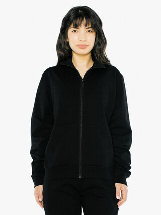 Unisex California Fleece Track Jacket (Black)