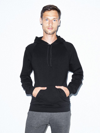 California Fleece Pullover Hoodie (Black)