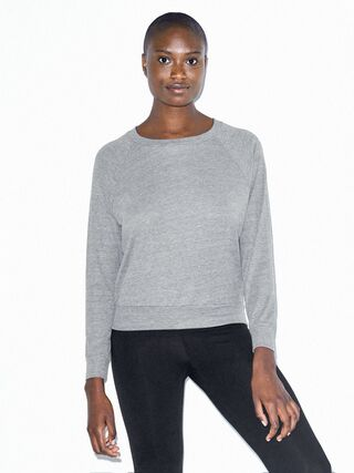 Tri-Blend Lightweight Pullover (Athletic Grey)