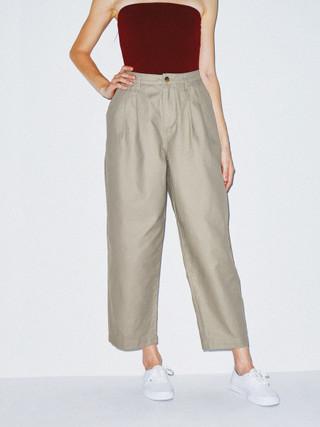 Twill Pleated Pant (Vintage Khaki)