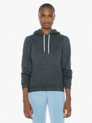 Unisex Flex Fleece Pullover Hoodie (Dark Heather Grey)