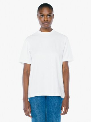 Unisex Heavy Jersey Box T-Shirt (White)