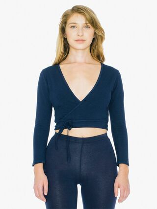 Cotton Spandex Julliard Top (Navy)