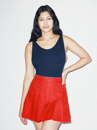 Gabardine Tennis Skirt (American Beauty)