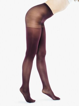 Opaque Pantyhose (Bordeaux)