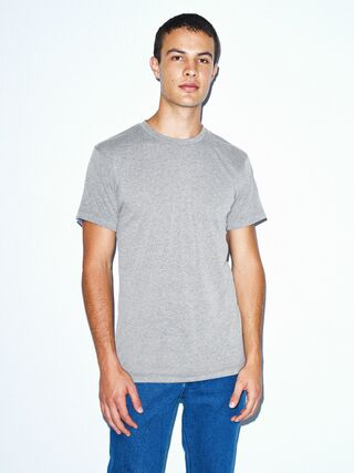 Tri-Blend Crewneck Track T-Shirt (Athletic Grey)